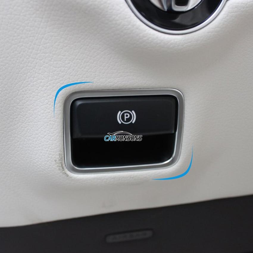 Carmonsons for Infiniti Q30 Q30S QX30 Parking Hand Brake Switch Sticker Trim Cover Accessories Car Styling polarlander good quality 8k1927225c car parking button hand brake switch brake switch replacement for au di a4l b8 q5