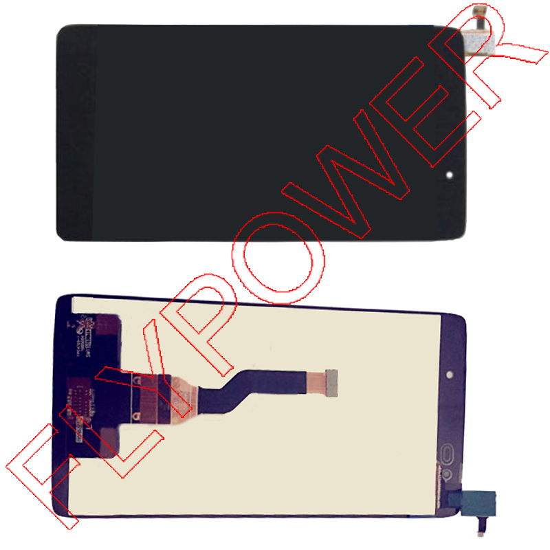 ФОТО For Alcatel One Touch Idol 3 6039 OT6039 Lcd Display Touch Screen Digitizer Assembly black by free shipping