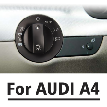 Headlight Foglight Switch Cover For AUDI A4 S4 8E B6 B7 2000-2007 8E0941531B Repair Kit(China)