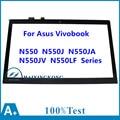 """Новый 15.6 """"Ноутбук С Сенсорным Экраном Дигитайзер Стеклянная Панель Запасные Части для Asus Vivobook N550JA N550J N550 N550JV N550LF Серии"""