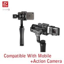 Zhiyun Q смартфон ручной 3 оси Gimbal стабилизатор экшн-камеры Selfie 3 оси Gimbal Steadicam для iphone Sumsung GoPro Yi