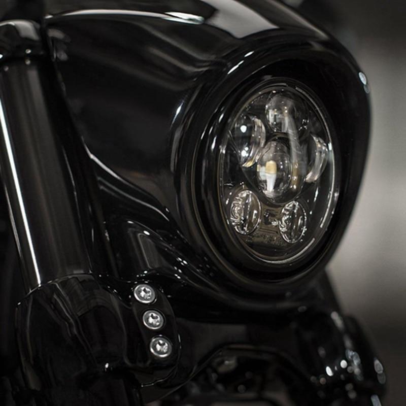 fit-for-harley-sportster-iron-883-dyna-street-bob-fxdb-45w-5-3-4-575-''-inch-black-daymaker-projector-led-headlight-bulbs