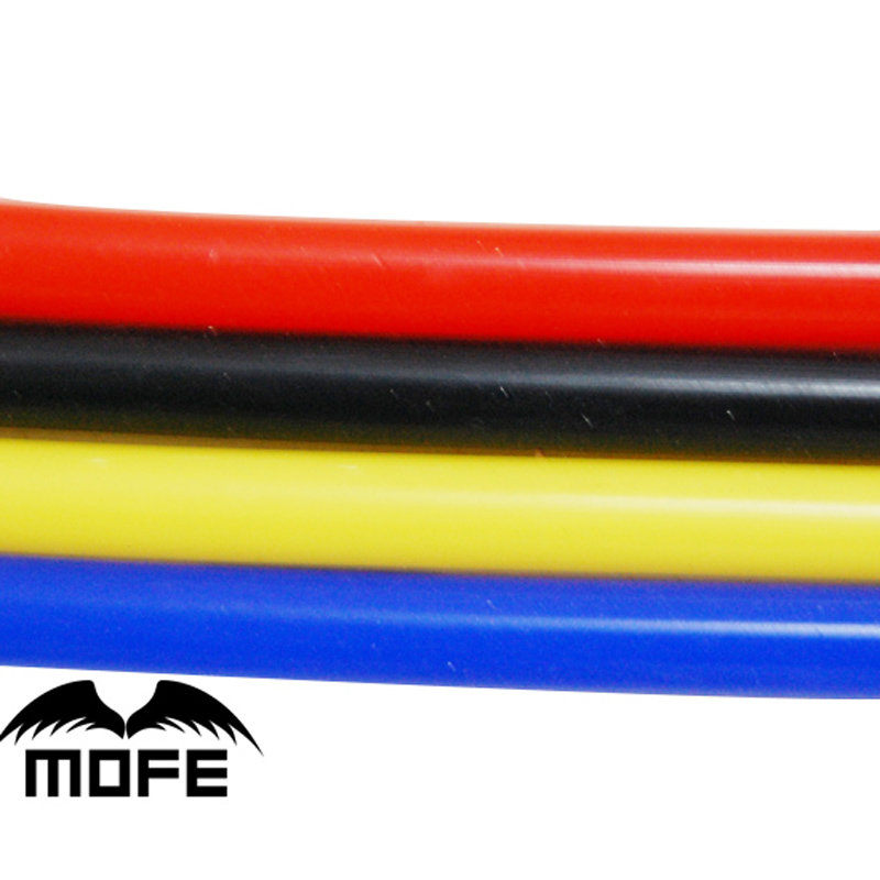Orange Silicone Vacuum Hose Boost Dump Valve Pipe 10mm ID