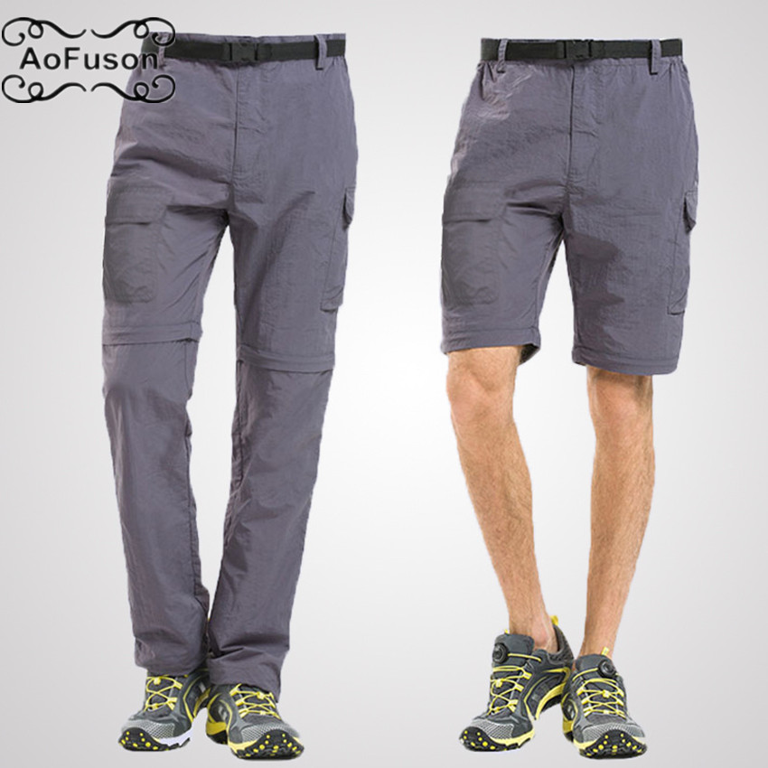 Shorts for Men Hiking Casual Quick Dry Travel Lightweight Tatical with Pockets Zipper Pockets,Camping