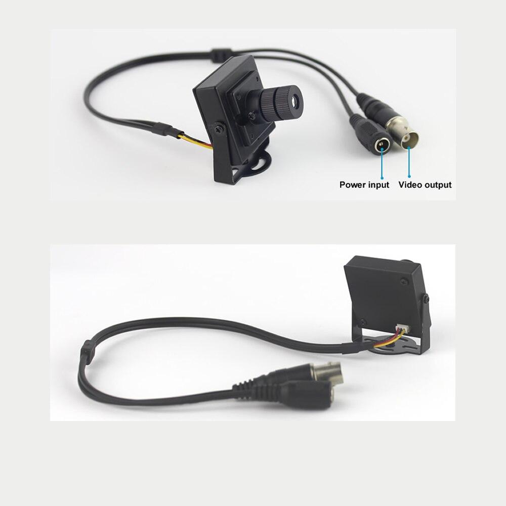 MiniTVTV kamera 900TVL minijaturna, 25 mm, objektiv velike - Sigurnost i zaštita - Foto 3