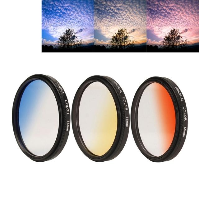 Universal lente de teléfono para iphone 7 plus lente gran angular 0.7x super lente macro 55mm filtro de la lente para iphone 6 s 6 samsung htc sony