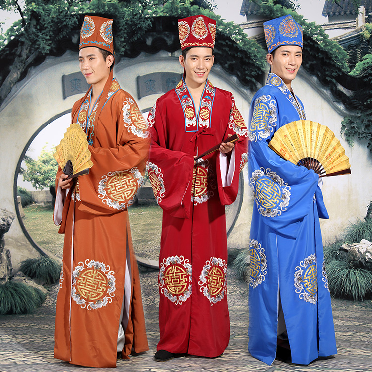 Special Fashion high quality Unisex traditional Clothes male costume chinese style wedding stage Halloween Outfit