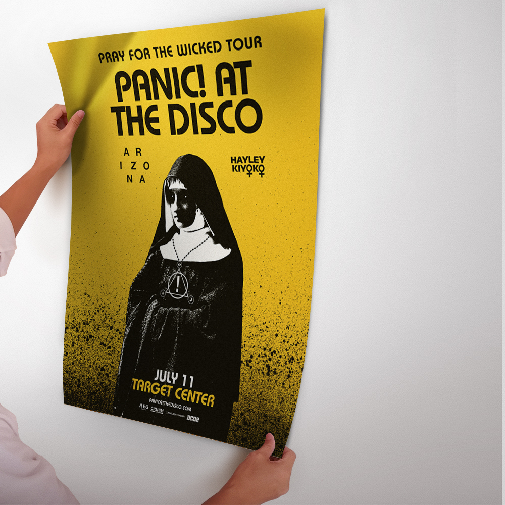 Panic! At The Disco Rock Band Art Poster And Print Glue Paper ...