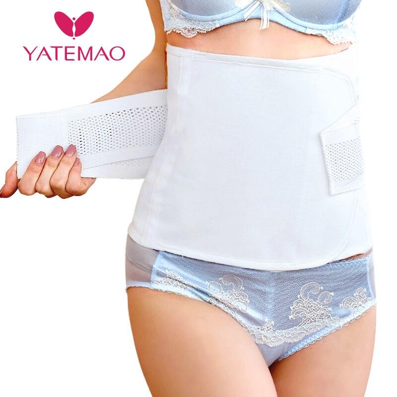 YATEMAO Bauch Band Nach der Schwangerschaft Gürtel Mutterschaft Postpartale Verband Band Recovery Shapewear Korsett Gürtel schlankheits korsett