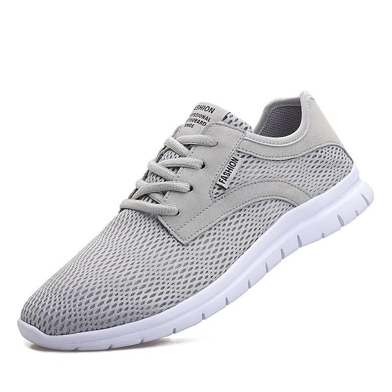 De Sneakers Plat Grande 2 Chaussures Sport Casual 1 Haute Hommes Homme Formateurs Qualité Mesh Taille 4 3 Respirant 47 Chaussure 4ALj3R5