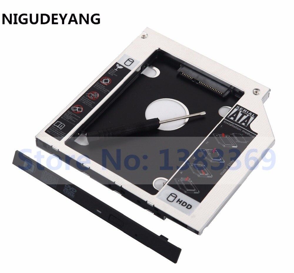 NIGUDEYANG 2nd HDD SSD жесткий диск Caddy адаптер для ASUS G550J G550JK K550JK N552VX A541u GUE0N UJ8E2 GUA0N