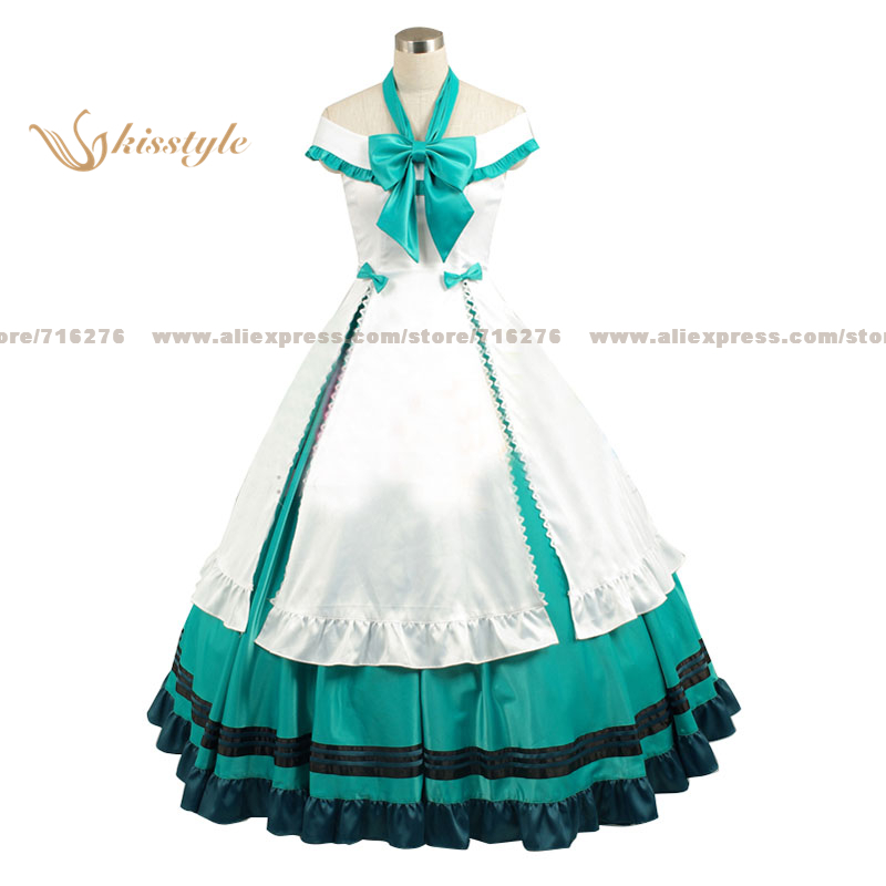 Kisstyle Fashion VOCALOID Hatsune Miku Alice Uniform COS Clothing Cosplay Costume,Customized Accepted