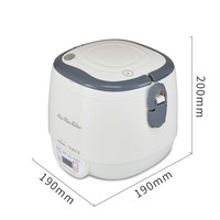 3 Cups Microcomputer Digital Mini Rice Cooker Food Steamer Intelligent Electric lunch Box Steamer For 1 2 People