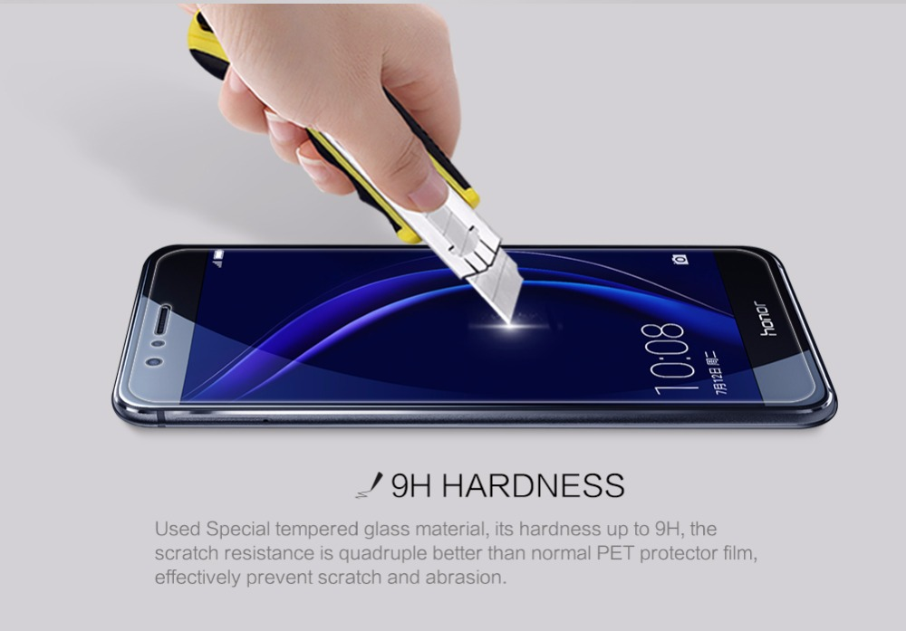 Huawei kehormatan 10 Nillkin 9 H menakjubkan H + Pro kaca tempered, - Aksesori dan suku cadang ponsel - Foto 6
