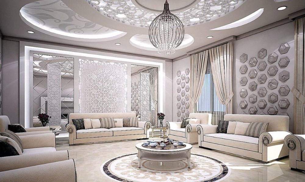 Luxury Silver color Beveled Mirror tiles decoration for living room in Decorative Mirrors from ...