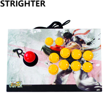 RYU joystick arcade 10 botões pc controlador de jogo de computador Joystick Consoles de King of fighters