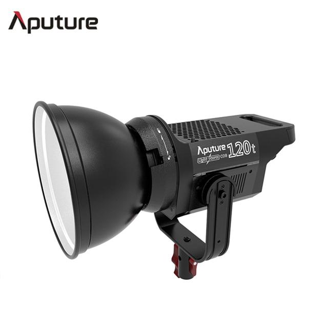 Aputure LS C120t Studio Continuous lighting bowens-mount aluminum  LED video light TLCI/CRI 97 with wireless V-mount Plate