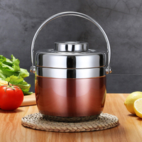 Unibird 2019 New 1.5L Stainless Steel Food Thermos 6 12 Hours Vacuum Lunch Box Thermo Container Soup Jar Insulated Thermoses