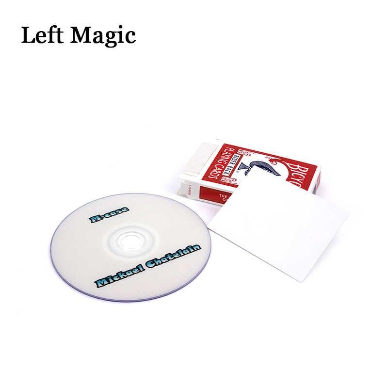 M-Case от Mickael Chatelain (Gimmicks + DVD) Волшебные трюки карта магический реквизит карты комедийные иллюзии ментализм