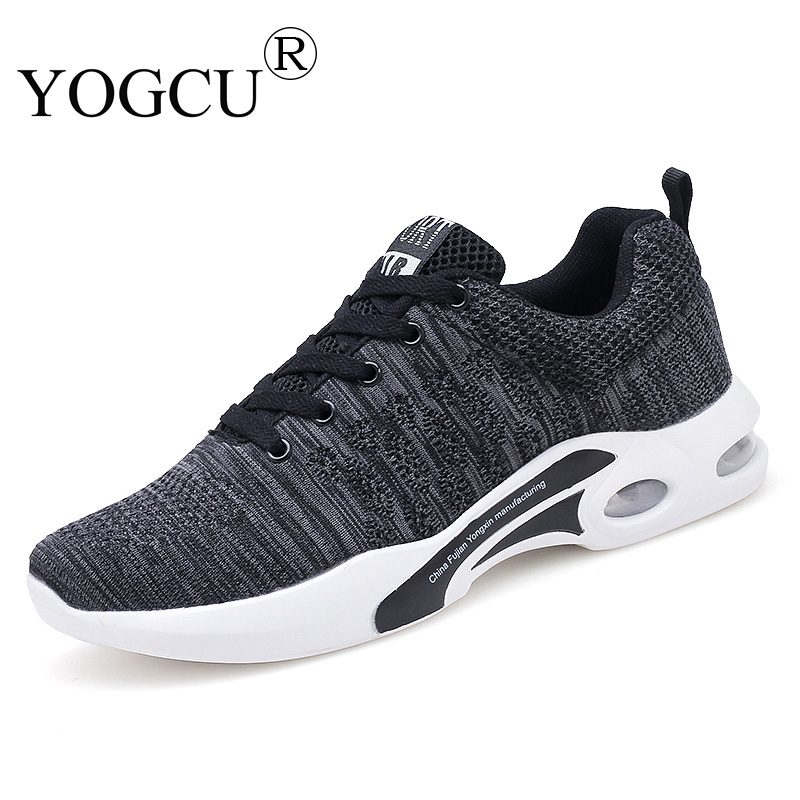 Mens sports shoes flying mesh breathable wear-resistant shock-absorbing skid Superstar running shoes