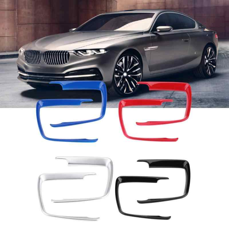 SHES Carbon Fiber ABS Steering Wheel Decorative Trim Cover Sticker Interior Accessories for BMW 1 3 Series F20 F30 F34 3GT 320i 328i 118i