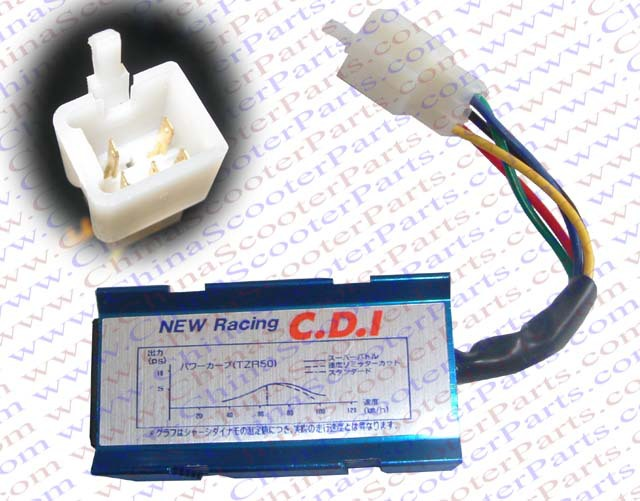 Racing 5 Pins one Squre Plug AC CDI Box 50CC 70CC 90CC 110CC 125CC 140CC Pit Dirt Bike ATV Quad Parts
