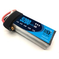 2017 DXF 6S Lipo Battery 6S 22.2V 5200MAH 35C MAX 60C T/XT60 LiPo RC Battery For Rc Helicopter Car Boat 6S