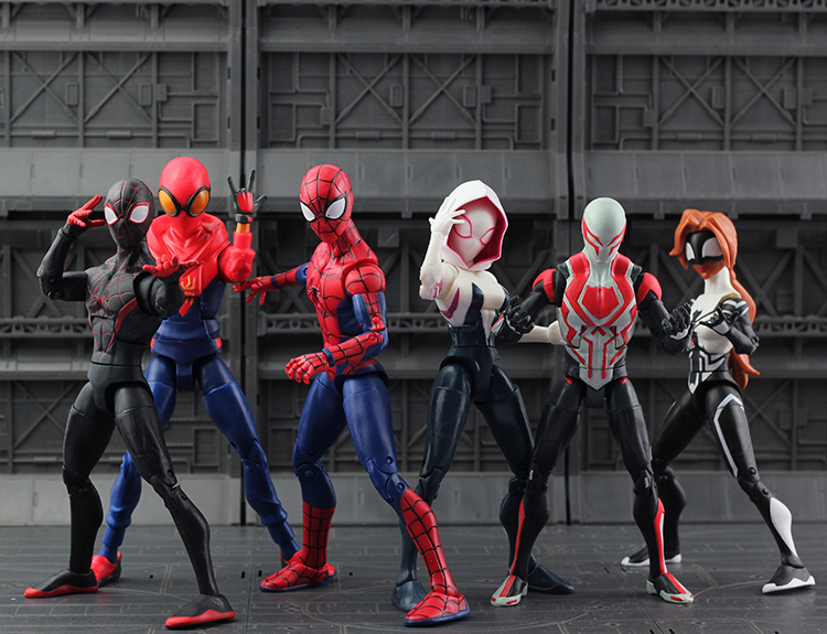 7 Type Movie SpiderMan Homecoming Gwen Stacy Spider Woman Spider Man Action Figure Model Doll Christmas Gift