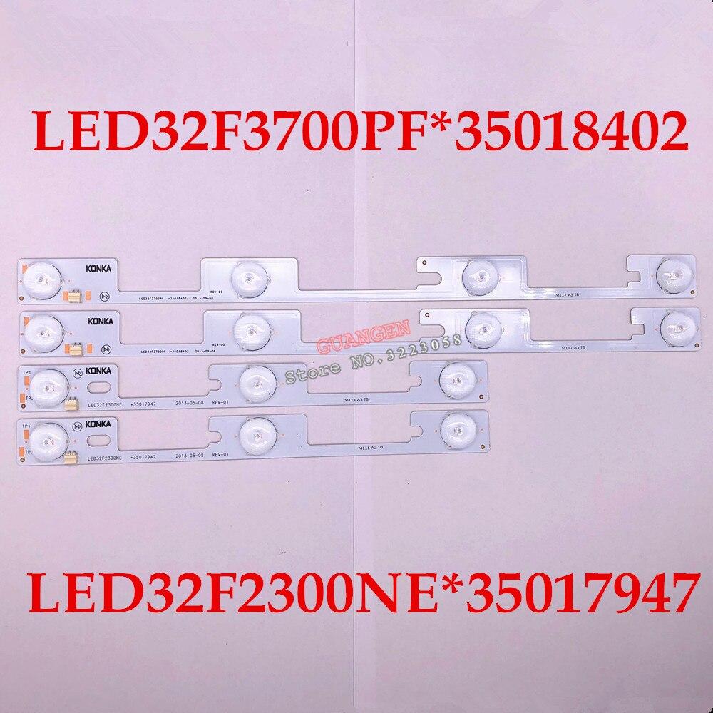 New Origina for Konka 40PCS 20PCS LED32F3700PF 20PCS LED32F2300NE light bar 35018402 35017947 backlight lamp LED