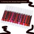 12 Charming Colors Choose Colorstay Waterproof Natural Liquid Lip Gloss Lipstick Set Long Lasting Moisturizing Brightening Matte
