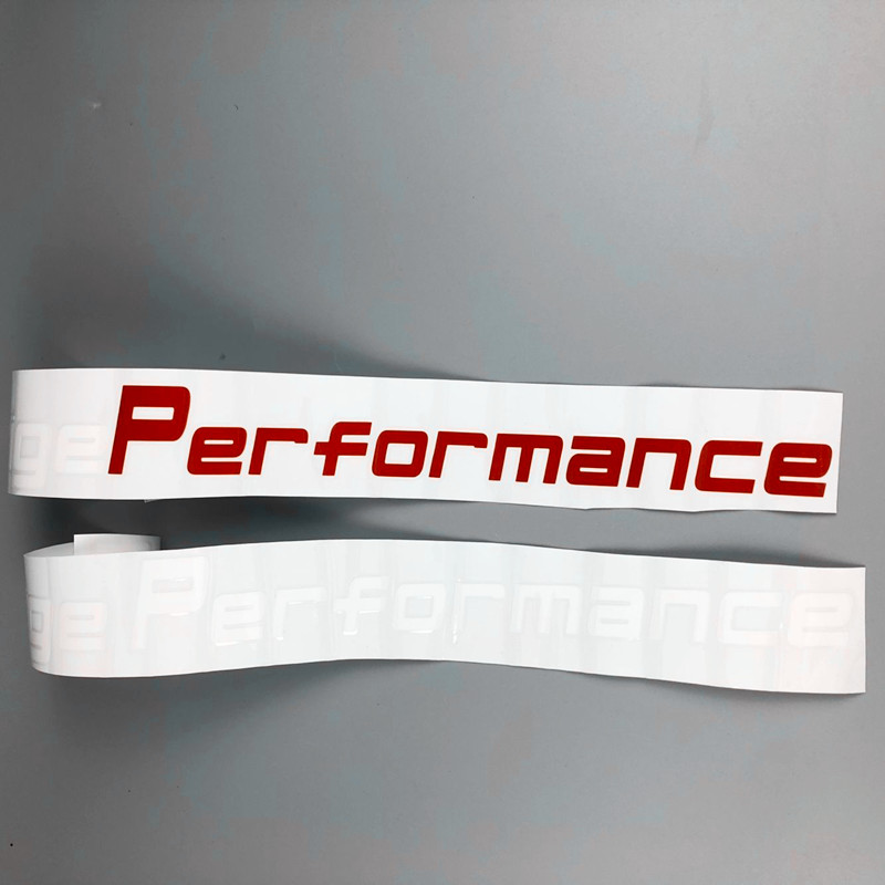 Image 4 - 55cm Prestige Performance Graphic Front Windshield Decor Stickers Auto Door Customized Decal Car Sport Styling-in Car Stickers from Automobiles & Motorcycles