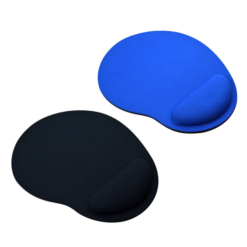 1 Pcs Ergonomic Comfortable Soft Wrist Rest Mouse Pad Non Slip Mice Mat Desk Cushion Universal For Computer Pc Tablet MacBook