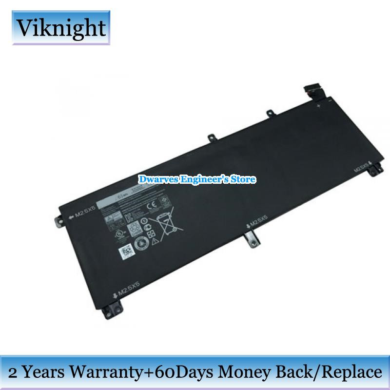 Original Laptop Battery for Dell Inspiron XPS 15 9530 M3800 Precesion m3800 TOTRM 61Wh Battery Y758W 07D1WJ 0H76MY 7D1WJ 11.1V аккумулятор topon top dl9200 11 1v 4400mah для dell inspiron 6000 9200 9300 9400 e1705 xps gen 2 xps m170 xps m1710 precision m6300 m90 series аналог pn g5266 g5260 d5318 310 6321 310 6322
