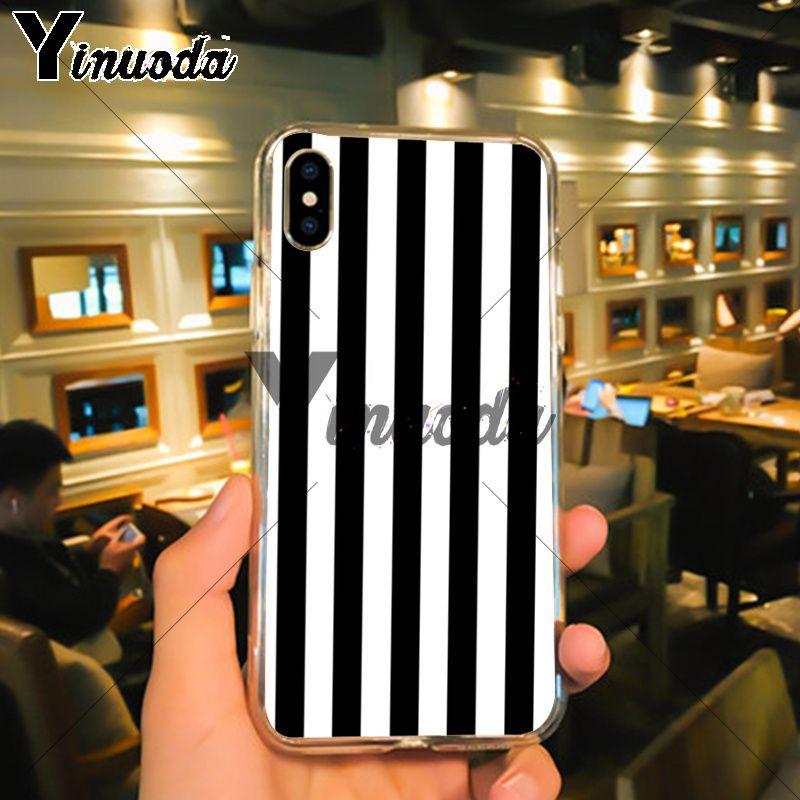 Black White Stripes Gold Love (5)