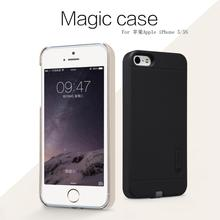 Original Nillkin Magic case QI wireless charging receiver back cover for Apple iphone 5s/iphone 5 with retail package