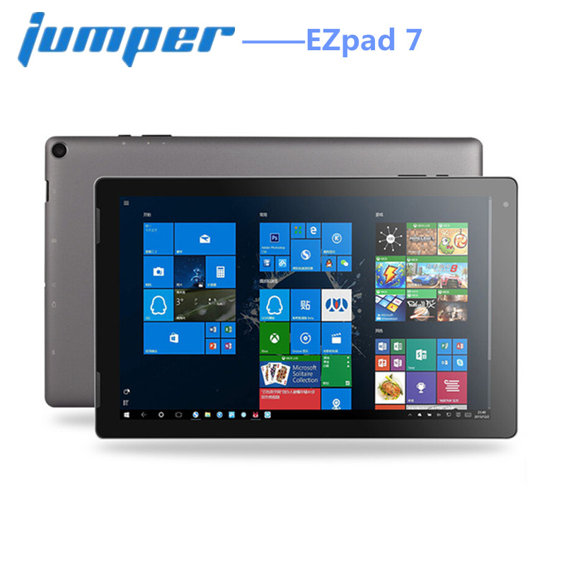 Jumper EZpad 7 Tablet 2 in 1 Tablet PC 10.1'' Windows 10 Intel Cherry Trail Z8350 Quad Core 1.44GHz 4GB RAM 64GB eMMC ROM