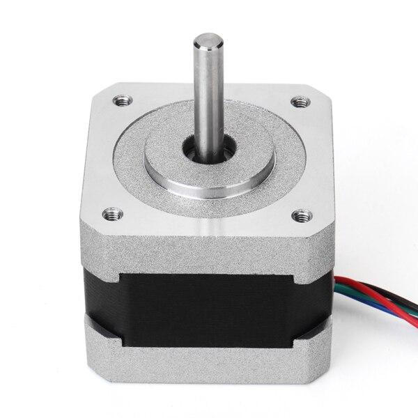 NEMA 17 0.9 Graus 42mm Duas Fases Híbrido Stepper Motor 1.33A 34mm Impressora de Motor De Passo Para CNC 3D equipamentos médicos