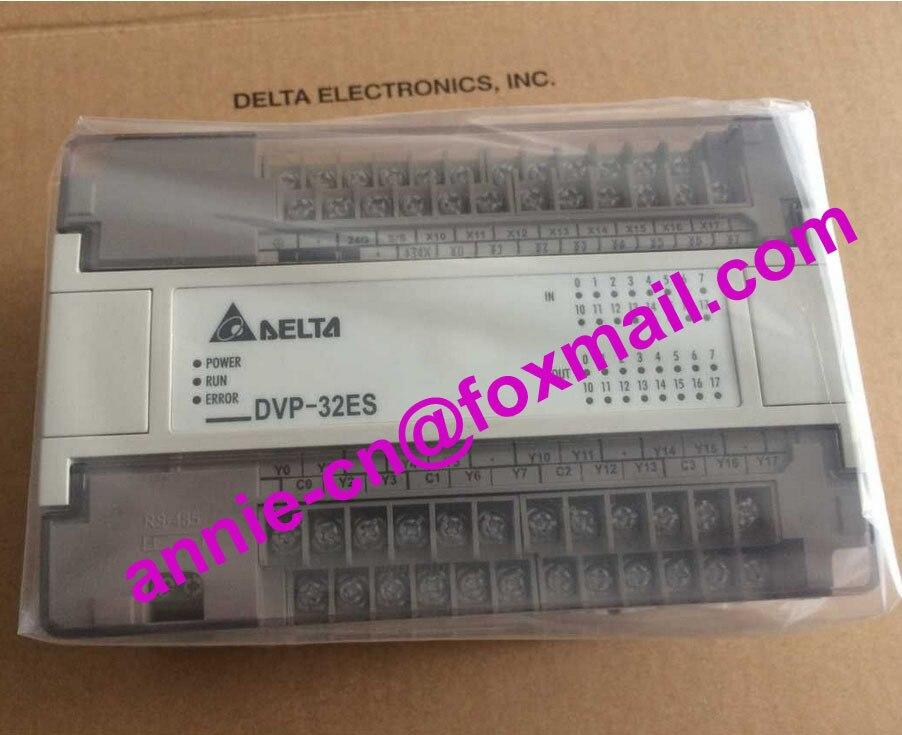 100% New original DVP32ES00R2  Delta  programmable controller   DVP-ES series, 32 point host, 16DI/16DO relay