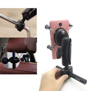 Image 5 - Ray Lắp 1 inch bóng xe hơi, xe máy xe tay ga gương chiếu hậu thân thanh Ốp cho điện thoại di động cho RAM gắn