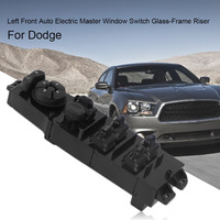 Left Front Automobile Truck Driver Side Electric Master Window Switch Control Glass Frame Riser Lifter Automobile