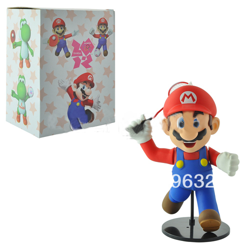 5eea131341 Super Mario Badminton Player PVC Action Figure Free shipping Above 2 pcs Get  Wholesale Price Mixed batch