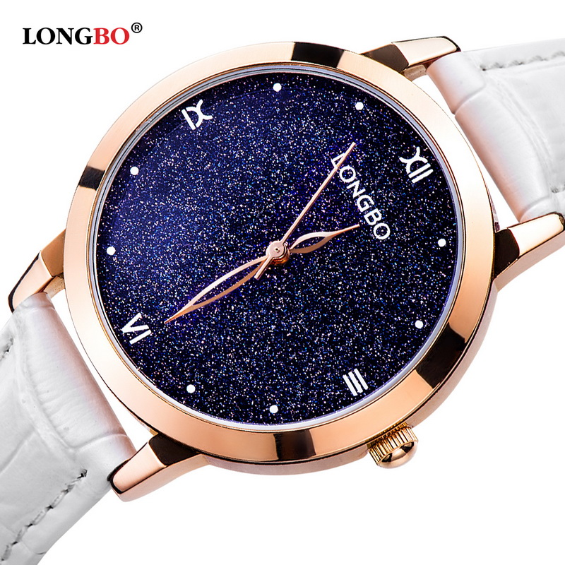 New 2018 Sport Brand Fashion Sky Luxury Quartz Analog Waterproof Watch Stars Roman Brief Index Dial Genuine Strap Watch 5052New 2018 Sport Brand Fashion Sky Luxury Quartz Analog Waterproof Watch Stars Roman Brief Index Dial Genuine Strap Watch 5052