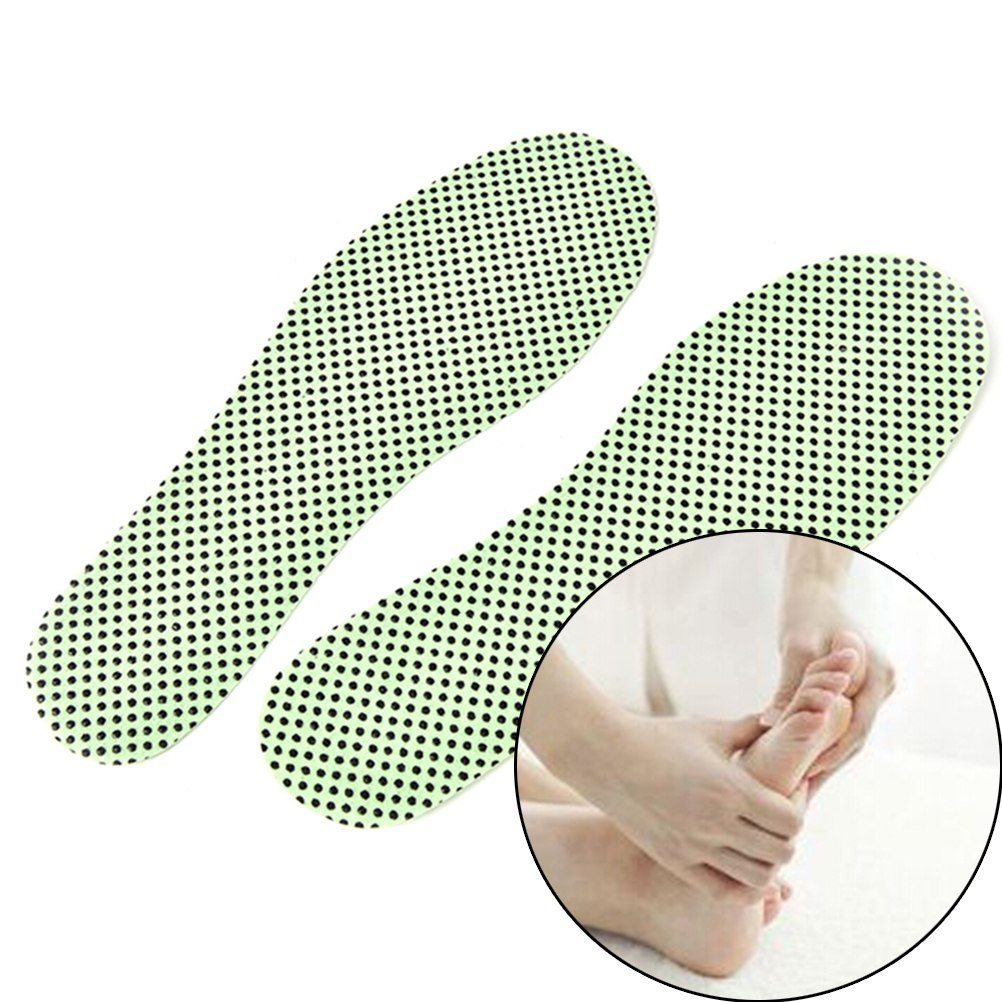 Natural Tourmaline Self-heating Insoles Winter Soles Warm Reflexology Insoles For Footwear Insoles Heated Self-heating Insoles