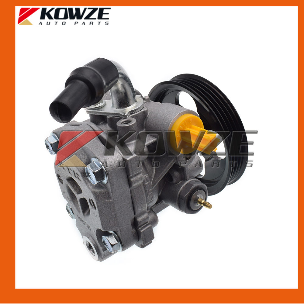 New Power Steering Pump For PAJERO MONTERO Shogun II 2nd 1990-2004 MR133400 power steering oil pump assy for mitsubishi pajero montero shogun ii 3 0 3 5 l v6 6g72 6g74 mr267662 page 1 page 2