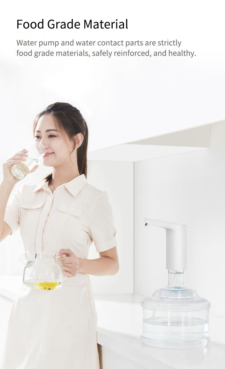 Newest Xiaomi XiaoLang Automatic Mini Touch Switch Water Pump Wireless Rechargeable Electric Dispenser Water Pump WithTDS Test (9)