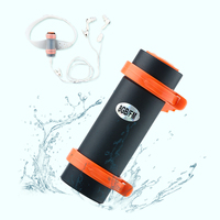 BBGear 8GB Waterproof MP3 Swimming Diving Music Player Support FM Sports MP3 With Armband Headband Headphone