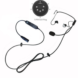 Image 5 - NEW airbus connector in ear type aviation headset L 1 Super Light Weight with   Quiet as ANR! in ear type pilot headset