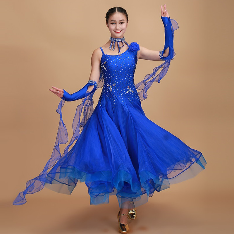 Show details for 10 Colors Red Ballroom Dance Competition Dresses Dance Ballroom Waltz Dresses Standard Dance Dress Ballroom Dress Tango Rumba