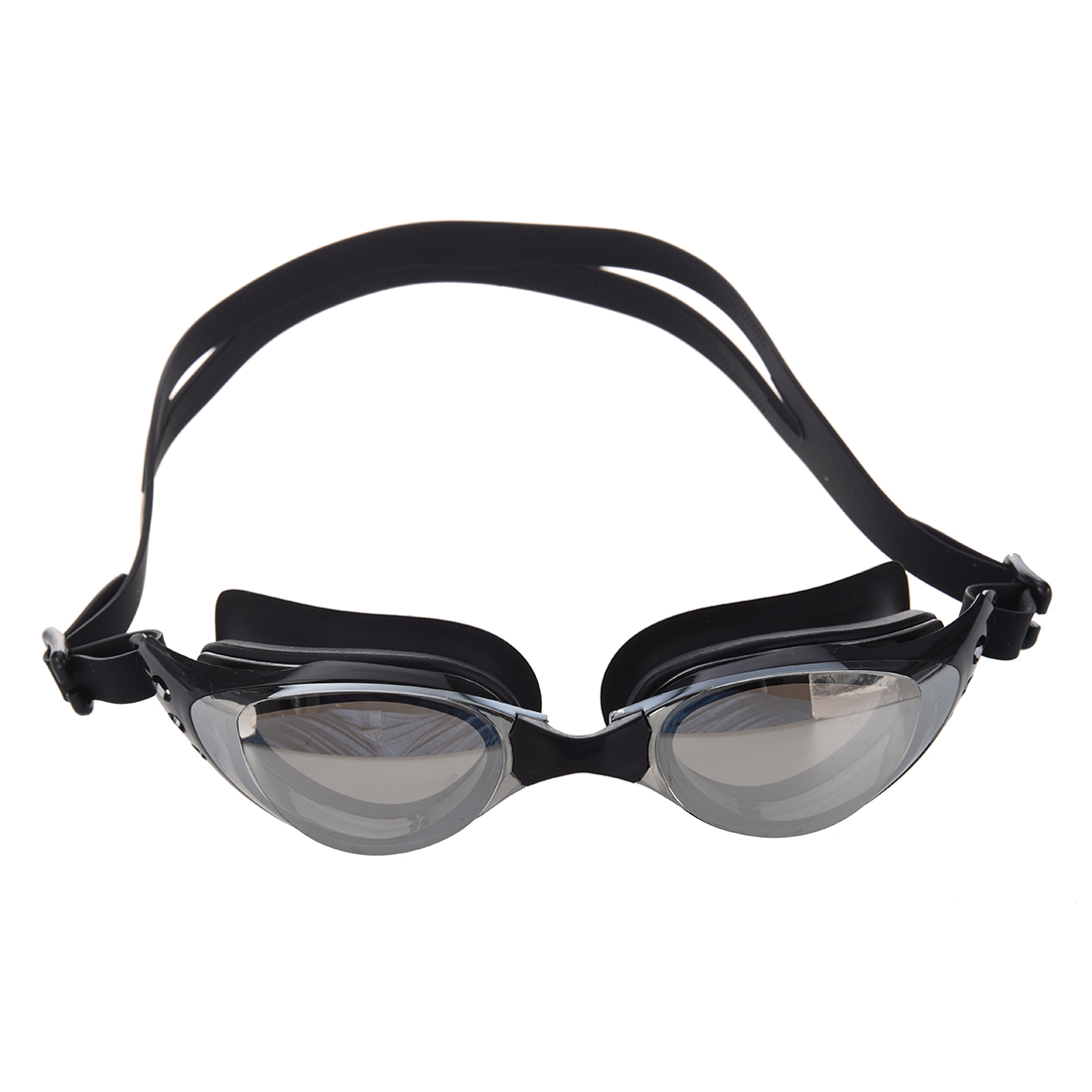 Black Swim Swimming Water Silicone Pool Adult Goggles
