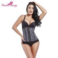Wonder Beauty Latex Waist Trainer Fajas Shapewear Hot Corset Slimming Belt Body Shaper Waist Cincher Tummy